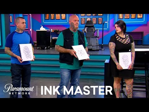 3 Canvases, 9 Tattoo Design Options | Ink Master: Redemption (Season 4)