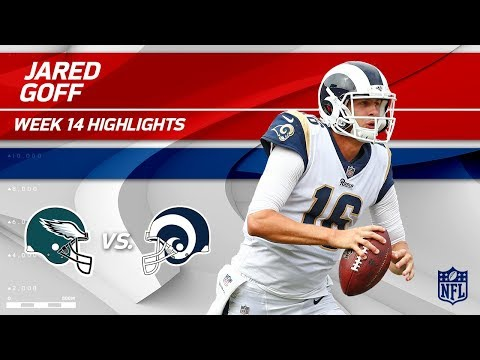 Jared Goff Highlights | Eagles vs. Rams | Wk 14 Player Highlights