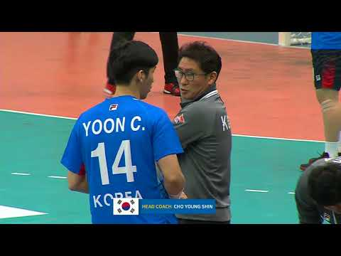 20180124 18th Asian Men's Handball Championship 2018 SAUDI ARABIA vs KOREA