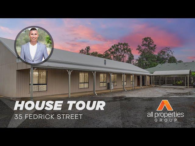 HOUSE TOUR | 35 Fedrick Street, Boronia Heights | CHRIS GILMOUR