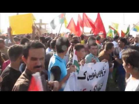 Kurds protest in Kurdistan Region capital Irbil