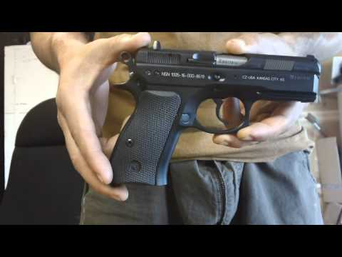 CZ P-01 Compact 9mm + Magazine Compatibility, Cable spooltop