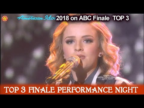 "Maddie Poppe sings Original ""Going Going Gone"" Her First Single   American Idol 2018 Finale Top 3"