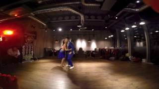 Juan Soto and Julia Ruiz Show Fusion Bachata Sensual, London UK