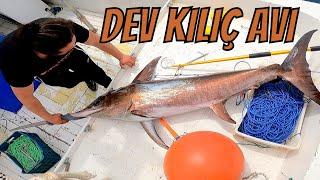 İLKER REİS İLE DEV KILIÇ AVLARI I Mızrakla Dev Kılıç Balıkları Yakaladık   I BÖLÜM 2