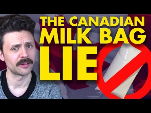 The great Canadian milk bag LIE