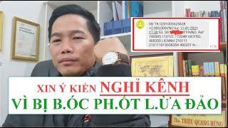 Triệu Quang Hùng BỊ B.ÓC PH.ỐT L.ỪA Đ.ẢO.