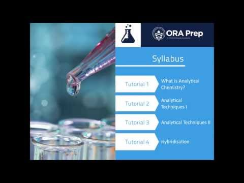 Analytical Chemistry: Online Course