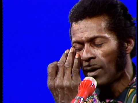 Chuck Berry  Wee Wee Hours German TV, 1972 2 takes!