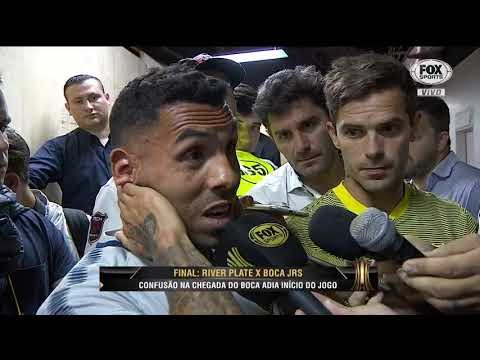 """""""Estão nos obrigando a jogar"""", Tevez sobre confusões na decisão da Libertadores"""