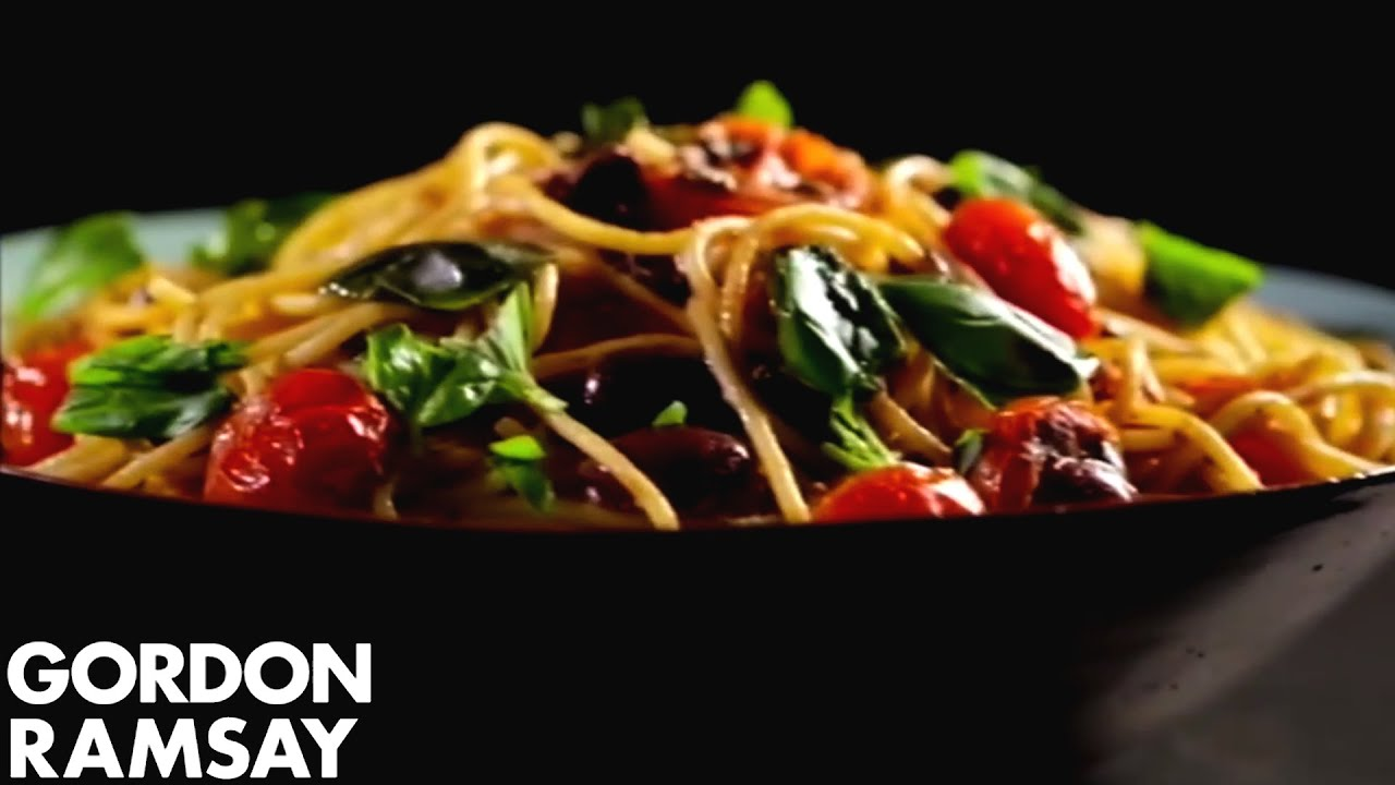 Pasta with Tomato, Anchovy and Chilli - Gordon Ramsay ...