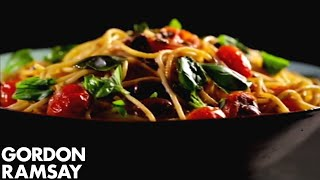 Pasta With Tomato, Anchovy And Chilli - Gordon Ramsay