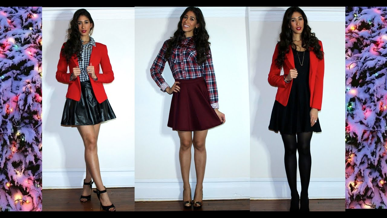 3 christmas outfit ideas 2013