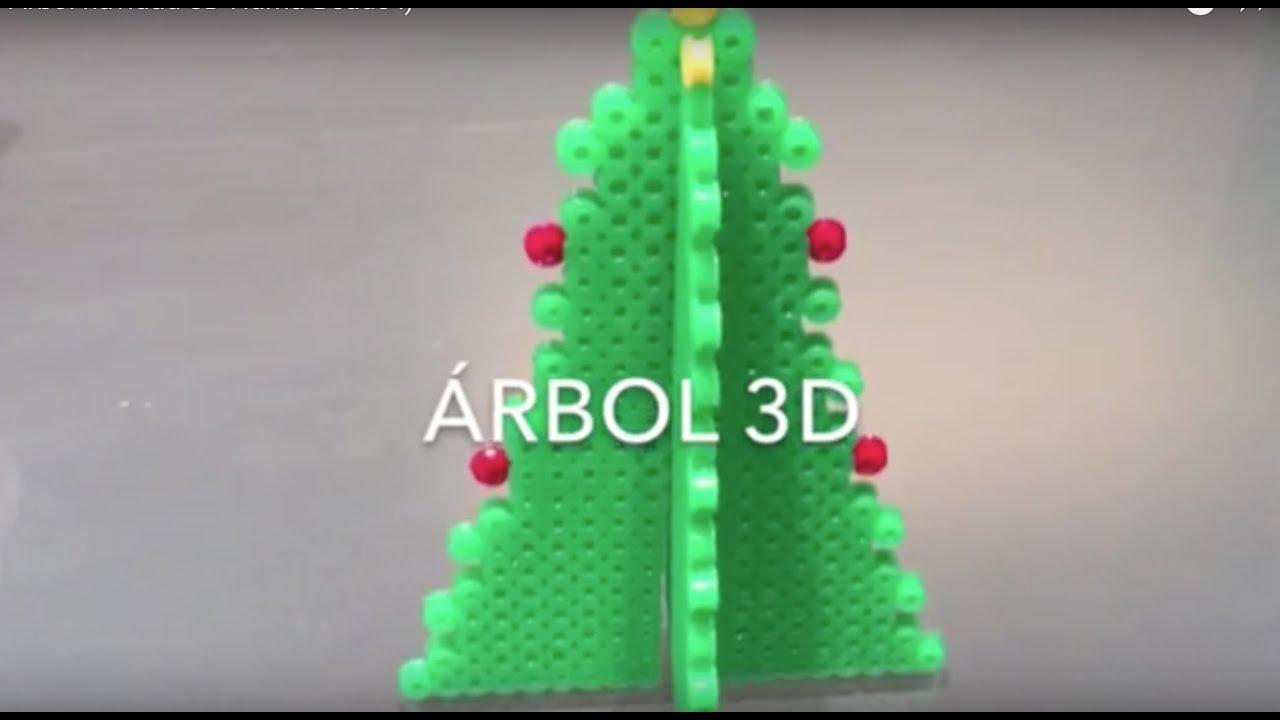 rbol Navidad 3D Hama Beads YouTube