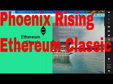 Ethereum Classic News Price Rising Fast Phoenix Explained