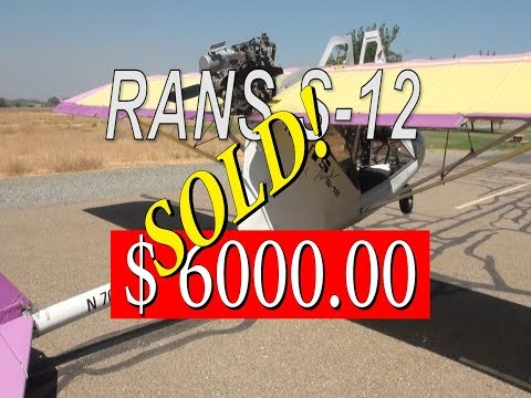 Rans S-12 For Sale