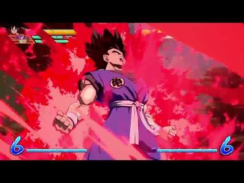 DRAGON BALL FighterZ base goku beam clash |