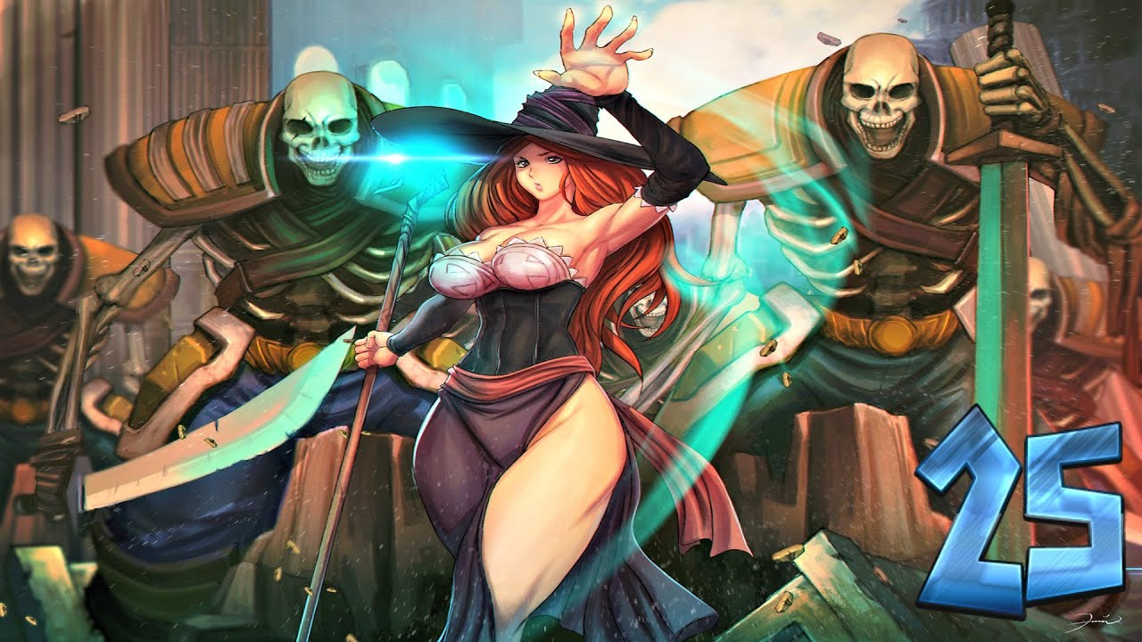 Dragon S Crown Sorceress Solo Part 25 Youtube