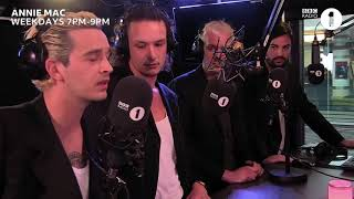 The 1975 // Annie Mac's Hottest Record May 2018 - BBC Radio 1