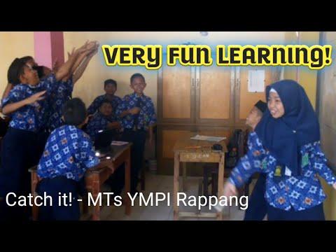 Contoh Permainan Bahasa Inggris seru dalam kelas - Catch it at MTs YMPI Rappang