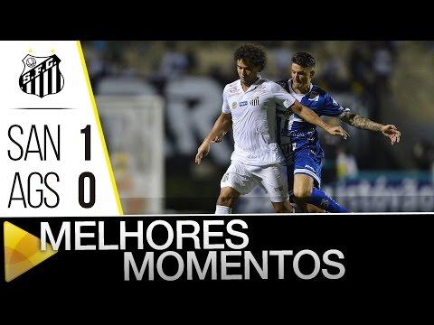 Santos 1 x 0 Água Santa | MELHORES MOMENTOS | Paulistão (12/03/16)