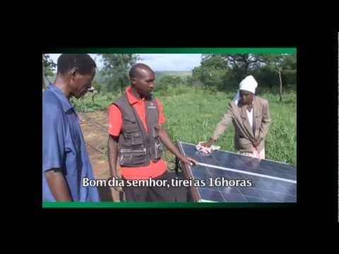 Energia Solar - Iluminando vidas de pessoas em Changalane, Moçambique.