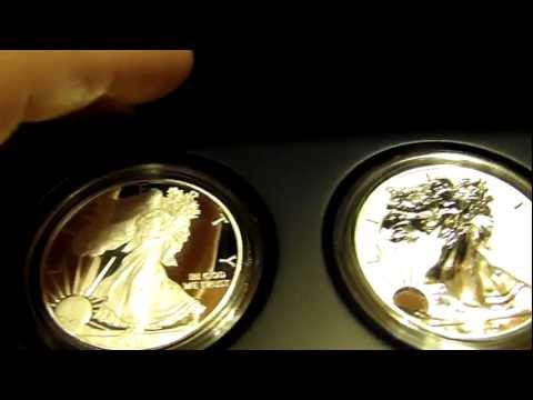 2012 American Eagle San Francisco Two Coin Proof Set