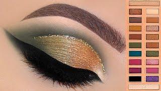 Gold & Green Makeup Tutorial | Melissa Samways