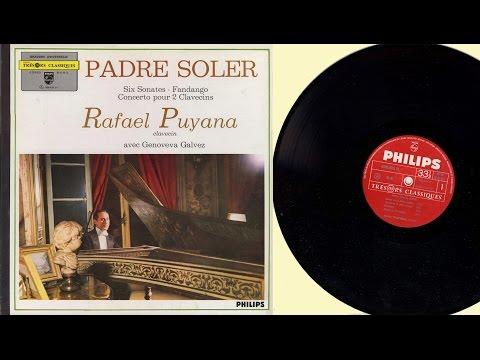 Rafael Puyana (harpsichord) Antonio Soler,  6 Sonatas - Fandango - Concerto for two harpsichords