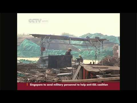 Construction projects shut down around Beijing for APEC meeting