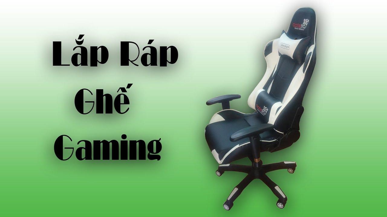 |DIY| Hướng Dẫn Lắp Ráp Ghế Gaming ( Gaming Chair )