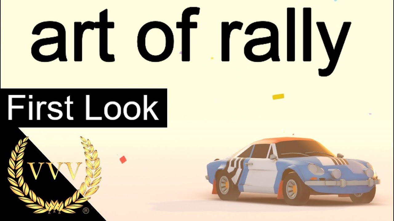 VideArt of rally – First Look – YouTube
