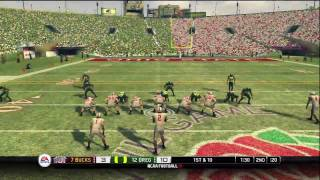 NCAA Football 10 - Rose Bowl - Ohio State vs Oregon (HD)