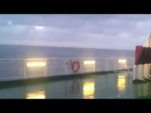 Gale Force 11 on Irish Sea Ferry