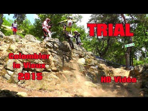 Championnat de France Trial  Colombier le vieux 2015