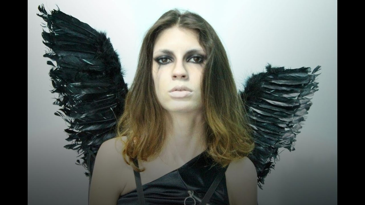 Dark Angel Halloween Makeup Inspired By Victoria Frances