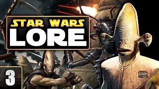 История вселенной Звездных Войн. Часть 3: Бесконечная империя раката | Star wars lore