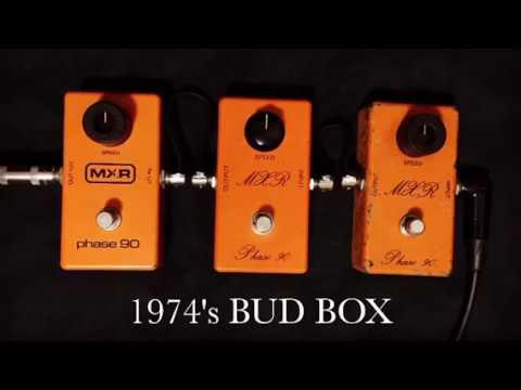 MXR Phase90 1974's BUD BOX vs 1975's Script Logo vs 1978's Block Logo