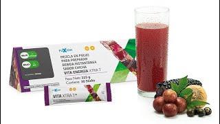 Vitaenergía XtraT    Bebidas energizantes  Maiz morado Camu camu  Maca Gingsen Productos Fuxion