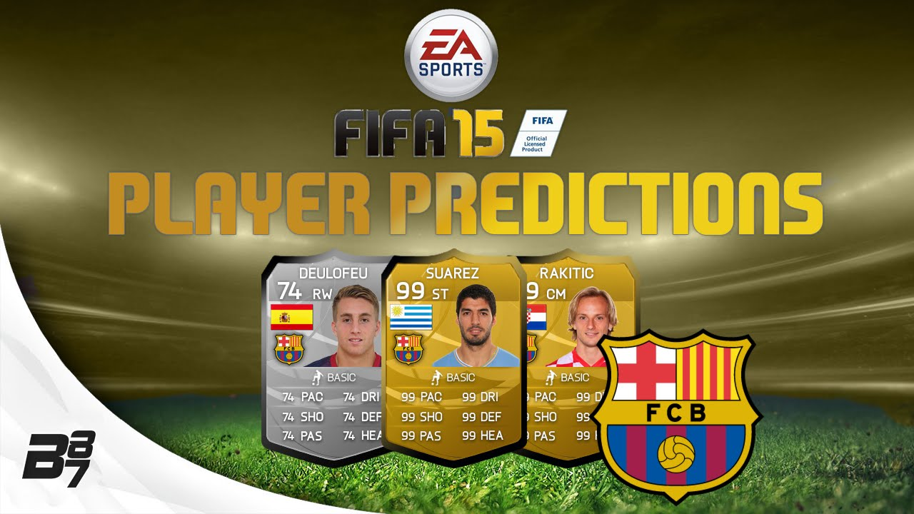 Suarez Barcelona Player Prediction w/ Rakitic | FIFA 15 Ultimate Team