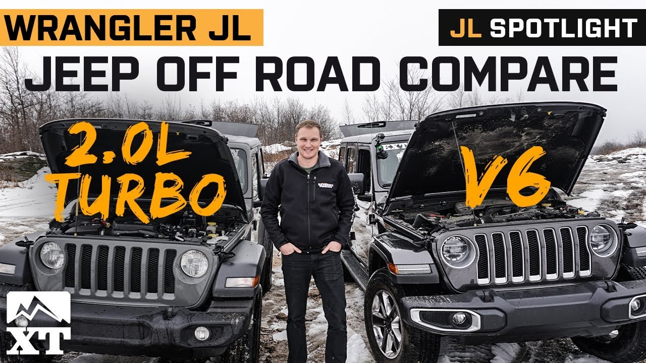 JL Turbo vs V6 Offroad compare | Which jeep Wrangler JL Engine is Best?