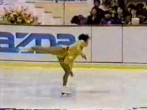 1987 NHK cup SP by Midori Ito