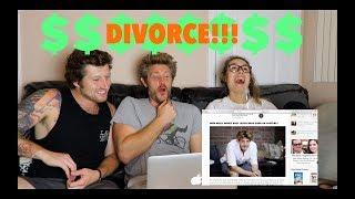 GOOGLING MYSELF!!! (my net worth & divorce!!!)