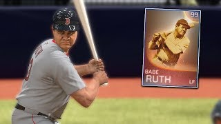 99 Babe Ruth Is On The Team! MLB The Show 18 | Franchise Mode Gameplay #2