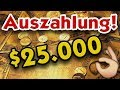 LIVE Auszahlung 25 000$ FINMAX!