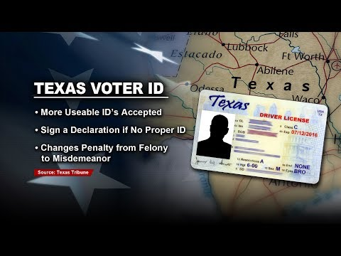 Texas Overhauls Their Controversial Voter ID Law