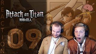 SOS Bros React - Attack on Titan Season 3 Episode 9 - Open Wide