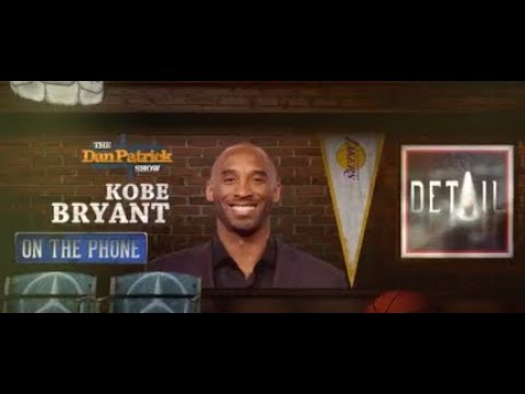 Kobe Bryant Talks MJ, Oscars & More w Dan Patrick | Full Interview | 4/12/18