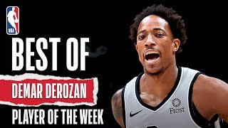 DeMar DeRozan | Week 12 Highlights | Western Conference Player Of The Week