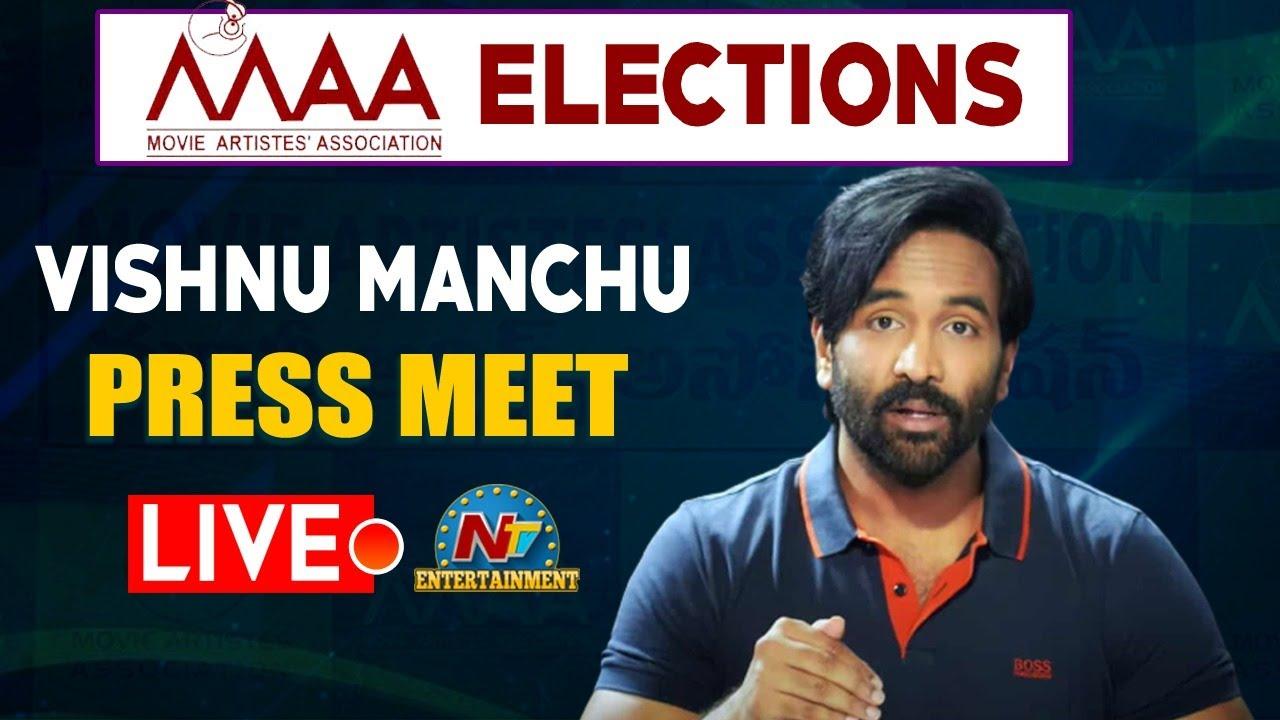 Download Vishnu Manchu Press Meet LIVE   Maa Elections 2021   NTV ENT LIVE